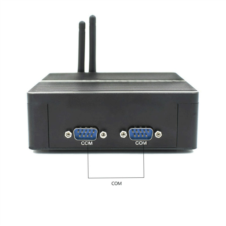 Eglobal new small computer intel celeron J1900 dual rs232 cheap mini pc