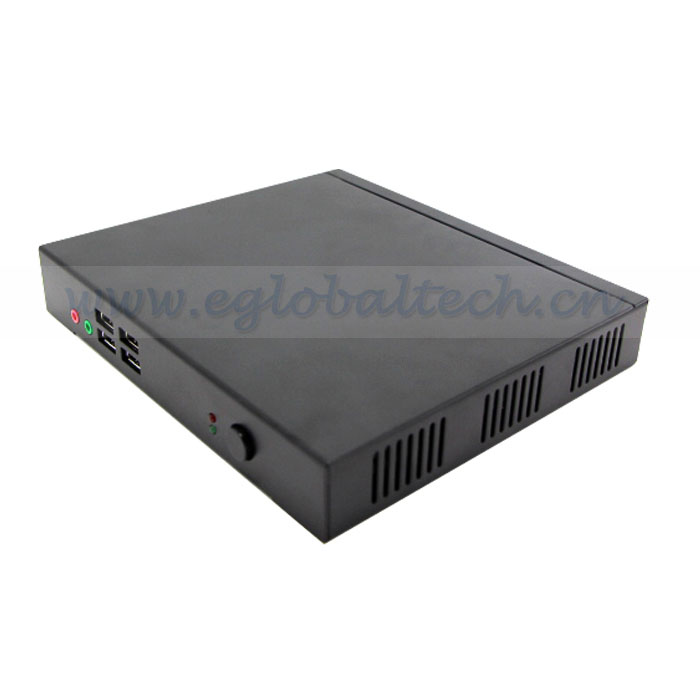 Mini Nuc With  optional Ram Standard configuration SSD/2.5 inch HDD Green Small PC With Fan Intel