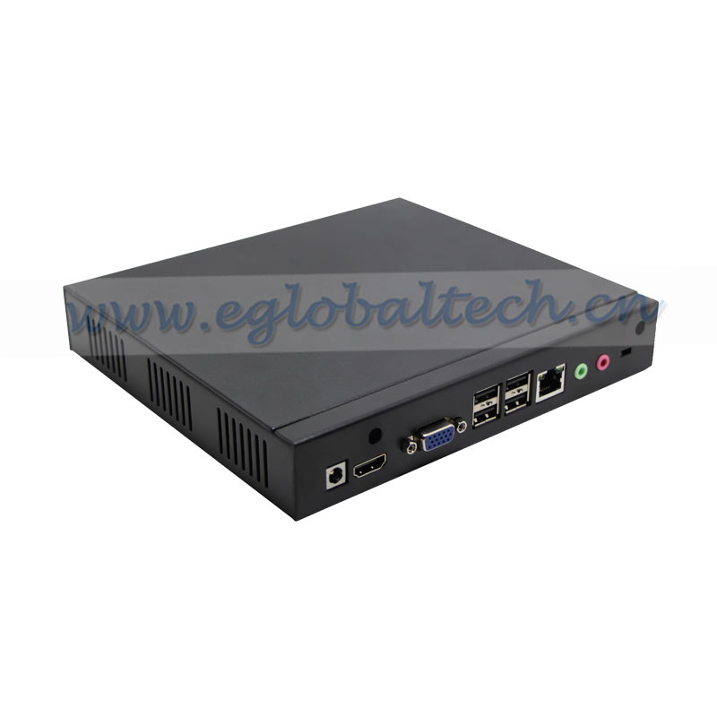 Mini PC AMD E240 1.5G Processor Green Small PC VGA HDMI 1080P Video Player Thin Client Solution 17W