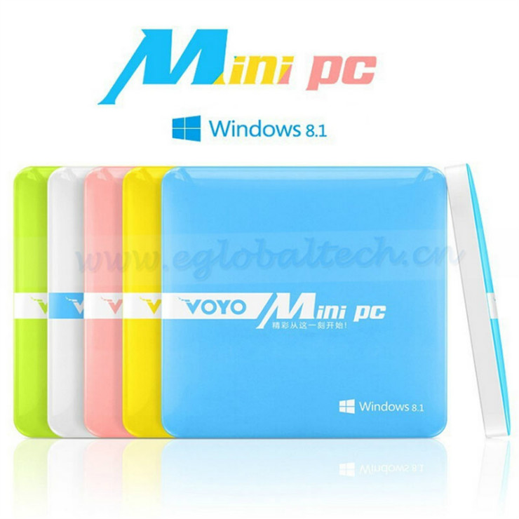 Voyo Mini PC Windows 8.1 2GB 64GB Intel Z3735F Quad Core Activated Windows with bing Mini Computer